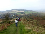 Ramblers on Croy Hill